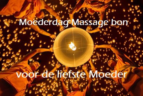 origineel Moederdag cadeau Moederdag massage bon