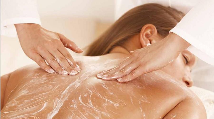 10% korting op de Duo Scrub Massage