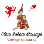 Valentijn massage cadeaubon
