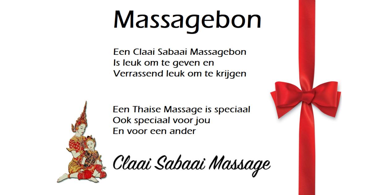 massagebon massagebonnen leuk gezond origineel